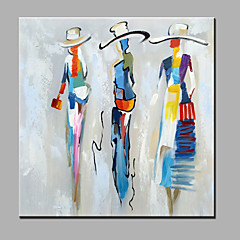 cheap Prints-Print Stretched Canvas - People Modern