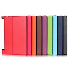 povoljno -10.1 inčni visoke kvalitete pu kožna torbica za kartice lenovo yt3-x50f (yoga tab3-x50f) (ponekog boje)