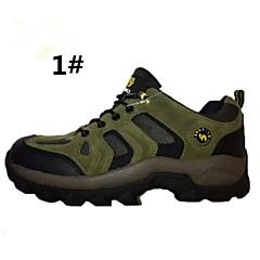 billige Skotøy og tilbehør-Løpesko Fjellsko Fritidssko Hikingsko joggesko Herre Dame Unisex Anti-Skli Demping Innvirkning Pustende Slitasje-sikker Elektrisk