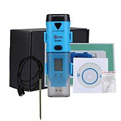 tanie Pomiar temperatury-bside bth05 wodoodporną trzech kanałów temperatury punktu rosy wilgotności rejestrator danych z interfejsem USB i wyświetlaczem LCD