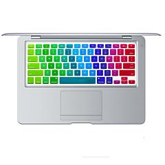 Regenbogen helle Design Silikon-Tastatur-Abdeckungshaut für macbook Luft 13.3, macbook pro mit Retina 13 15 17 uns Layout