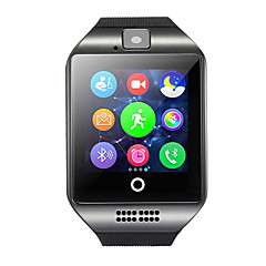 tanie Inteligentne zegarki-Q18 Inteligentny zegarek Android Bluetooth USB Ekran dotykowy Spalonych kalorii Odbieranie bez użycia rąk Kamera Śledzenie Odległość Czasomierze Powiadamianie o połączeniu telefonicznym Rejestrator