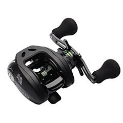 9+1 BB 6.3:1 Low Profile Baitcasting Reel Right Hand Bait Casting Fishing Reel Lightweight Water Drop Wheel