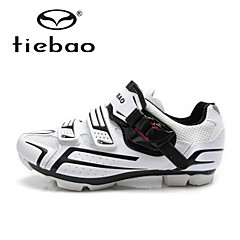 Tiebao Sneakers Mountain Bike Shoes Cycling Shoes Men's Anti-Slip Cushioning Ventilation Impact Wearproof Waterproof BreathableOutdoor