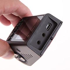 A118c-b40c carro dvr 1080p fhd 170 ° ângulo angular câmera de dash detecção de movimento ciclo ciclo gravação g-sensor