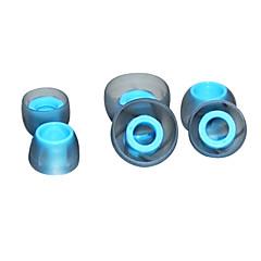 billige Tilbehør til hodetelefoner-siilcone materialet øretelefon tips for earhone (i øret)