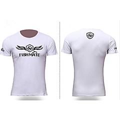 Outdoor Sports Casual Fishing Gear Short Sleeve Fishing Tshirt Summer Quick-Dry Shirt