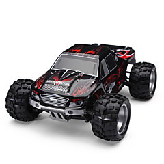 billige Fjernstyrte biler-Radiostyrt Bil WLtoys A979 2.4G Buggy (Off- Road) / Off Road Car / Driftbil 1:18 Børste Elektrisk 50 km/h KM / H Fjernkontroll / Oppladbar / Elektrisk