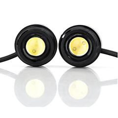 billige Interiørlamper til bil-exled 1.5W 110lm ledet hvitt lys eagle øyne lys for bil - (12v / pair)