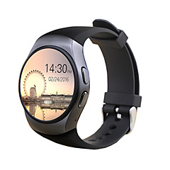cheap Smartwatches-Smartwatch for iOS / Android Long Standby / Hands-Free Calls / Touch Screen / Pedometers / Message Control Activity Tracker / Sleep Tracker / Sedentary Reminder / Find My Device / Chronograph / 64MB