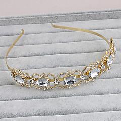 ריינסטון headbands headpiece מסיבת החתונה אלגנטי בסגנון נשי