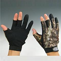 Χαμηλού Κόστους -Γάντια Γάντια Ψαρέματος Χωρίς Δάχτυλα Δολώματα πετονιάς Αντιανεμικό Αντιολισθητικό Ανθεκτικό στη φθορά Ύφασμα Νάιλον Άνοιξη Καλοκαίρι Φθινόπωρο Γιούνισεξ