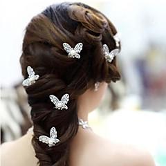 Imitation Pearl Alloy Hair Pin Headpiece Classical Feminine Style