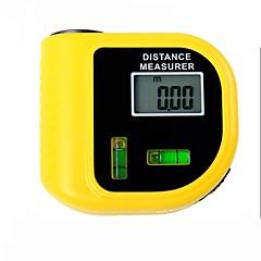 Χαμηλού Κόστους Αλφάδια-ηλεκτρονική laser μετρητή απόστασης tester με οθόνη LCD ψηφιακή οθόνη (εύρος: 2 ~ 60ft, + / - 5%)