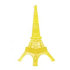 Sets zum Selbermachen Holzpuzzle Kristallpuzzle Spielzeuge Turm Berühmte Gebäude 3D Heimwerken Stücke