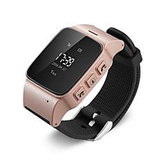 abordables Technologies Intelligentes-gps bracelet de montre tracker pour les personnes âgées bouton application mobile google map d'appel de décollage alarme gsm gprs traqueur