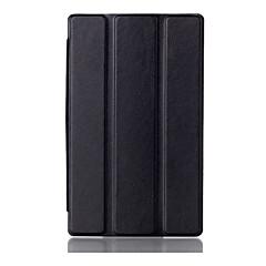 billige Nettbrettetuier&Skjermbeskyttere-Etui Til Lenovo Heldekkende etui Tablet Cases Trykt mønster Hard PU Leather til