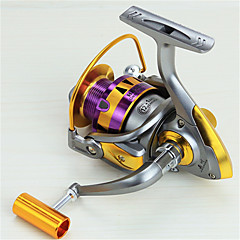 Metal  Fishing Spinning Reel 12 Ball Bearings  Exchangable Handle-HB3000