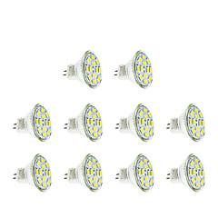 3W GU4(MR11) LED reflektori MR11 12 LED diode SMD 5730 Toplo bijelo Hladno bijelo 250lm 3500/6000K DC 12V