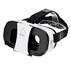 fiit VR 2Sバーチャルリアリティ3Dビデオヘルメットメガネ - 黒+白