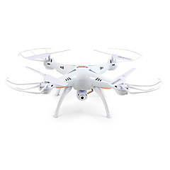 RC Drone SYMA X5SW 4-kanaals 6 AS 2.4G Met 2.0MP HD-camera RC quadcopter FPV LED-verlichting Headless-modus 360 Graden Fip Tijdens Vlucht