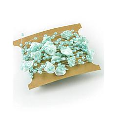 パッケージごとにユニークな結婚式の装飾/装飾品は、プラスチックセレモニー装飾-10piece / 5メートル