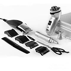 billige Barbering og hårfjerning-Elektrisk barbermaskin Rustfritt Stål PRITECH Ergonomisk Design Lav lyd Smøremiddel Dispenser