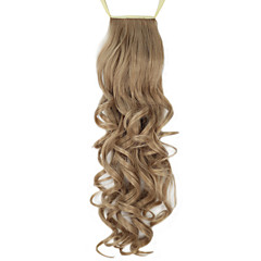 cheap Wigs & Hair Pieces-Ponytails Hair Piece Curly Classic Synthetic Hair 24 inch Hair Extension Daily