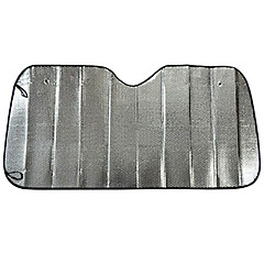 протектор авто переднего ветрового стекла зонтов ВС 140 * 70 алюминий