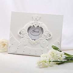 ieftine Favoruri Nuntă-Rășină Temă BasmeWithȘtrasuri Carte de Oaspeți