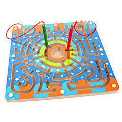 Magnet Toys Pieces 25*15 MM Magnet Toys Maze & Sequential Puzzles Maze Executive Toys Puzzle Cube For Gift