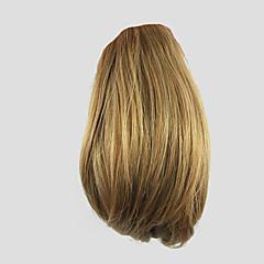 voordelige Haar Stukken-Clip-in Paardenstaart Bear Claw / Jaw Clip Synthetisch haar Haar stuk Haarextensies Gekruld