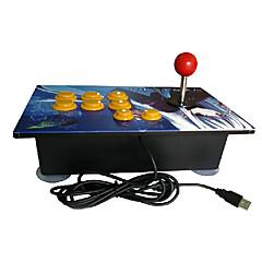 アーケード戦いusb有線アーケードゲームコントローラ