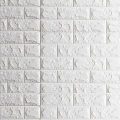 billige Tapet-3D Hjem Dekor Moderne Tapetsering, Pvc / Vinyl Materiale Selvklebende bakgrunns, Tapet