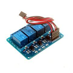voordelige -4-kanaals 5v relais module met optocoupler dsp avr pic arm voor Arduino