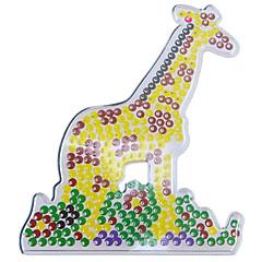 1buc șablon margele Perler clar pegboard model girafă de margele 5mm HAMA margele de siguranțe