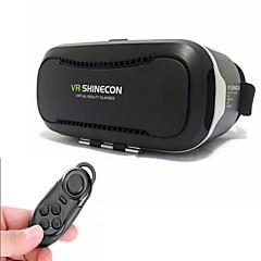 shinecon משקפי 3D מציאות מדומה 2.0 + שלט רחוק Bluetooth עבור הטלפון אינץ 4.5-6.0