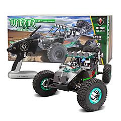 baratos Carros Controle Remoto-Carroça WLToys K949 1:10 Electrico Escovado RC Car 30KM/H 2.4G Azul Pronto a usarCarro de controle remoto / Controle Remoto/Transmissor /