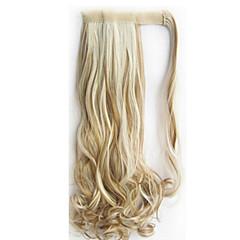 tanie Peruki syntetyczne-Kobieta Peruki syntetyczne Bez czepka Wodne fale Blonde Halloween Wig Karnawałowa Wig Costume Peruki