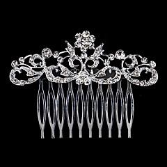 pérola de cristal de strass alloy penteado de cabelo cabeça estilo elegante