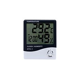 tanie Pomiar temperatury-termometr cyfrowy htc-1 higrometr wewnętrzny i zewnętrzny higrometr elektroniczny higrometr zegarowy