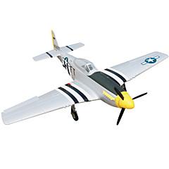 """P51D Mustang 4CH 2.4G 1: 8 RC מטוס 50 ק""""מ / H יש צורך בהרכבה"""