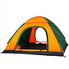billige Telt og ly-3-4 personer Telt Enkelt camping Tent Ett Rom Automatisk Telt Fukt-sikker Velventilert Vanntett Ultraviolet Motstandsdyktig Pusteevne til