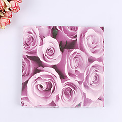 cheap Wedding Napkins-100% virgin pulp Wedding Napkins - 20pcs Beverage Napkins Luncheon Napkins Dinner Napkins Wedding Anniversary Birthday Bridal Shower