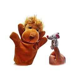 Fingerpuppe Spielzeuge Löwe Spielzeuge Neuheit Jungen Mädchen Stücke