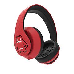 めき Devil Cat-6 ヘッドホン(ヘッドバンド型)Forメディアプレーヤー/タブレット / コンピュータWithマイク付き / DJ / ボリュームコントロール / FMラジオ / ゲーム / スポーツ / ノイズキャンセ / Hi-Fi