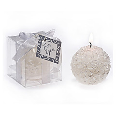cheap Candle Favors-Bridesmaids / Bachelorette - Rose Ball Candle Home Décor Wedding Favors 5.3 x 5.3 x 5.3 cm/box