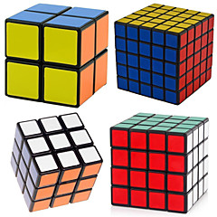 cheap -4 PCS Magic Cube IQ Cube Shengshou 2*2*2 3*3*3 4*4*4 Smooth Speed Cube Magic Cube Puzzle Cube Professional Level Speed Classic & Timeless Kid's Adults' Toy Boys' Girls' Gift