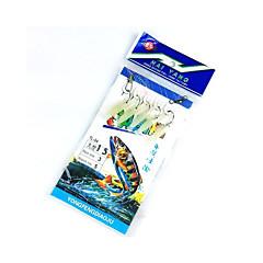 Fiske-5 stk Random Colors Metall / Karbonstål-hongyang Generelt fisking