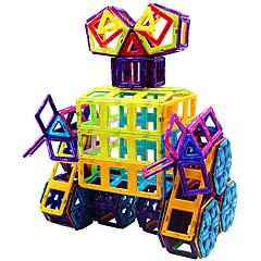 Sets zum Selbermachen Magnetspielsachen Bausteine Magnetische Blöcke Magnetische Gebäude-Sets Stücke Spielzeuge lieblich Magnetisch
